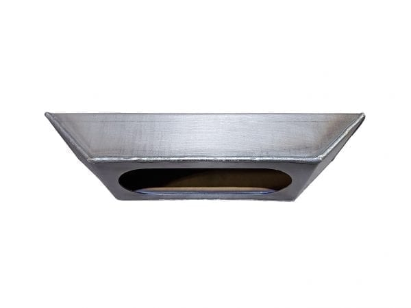 Single Oval Sloped End Light Box