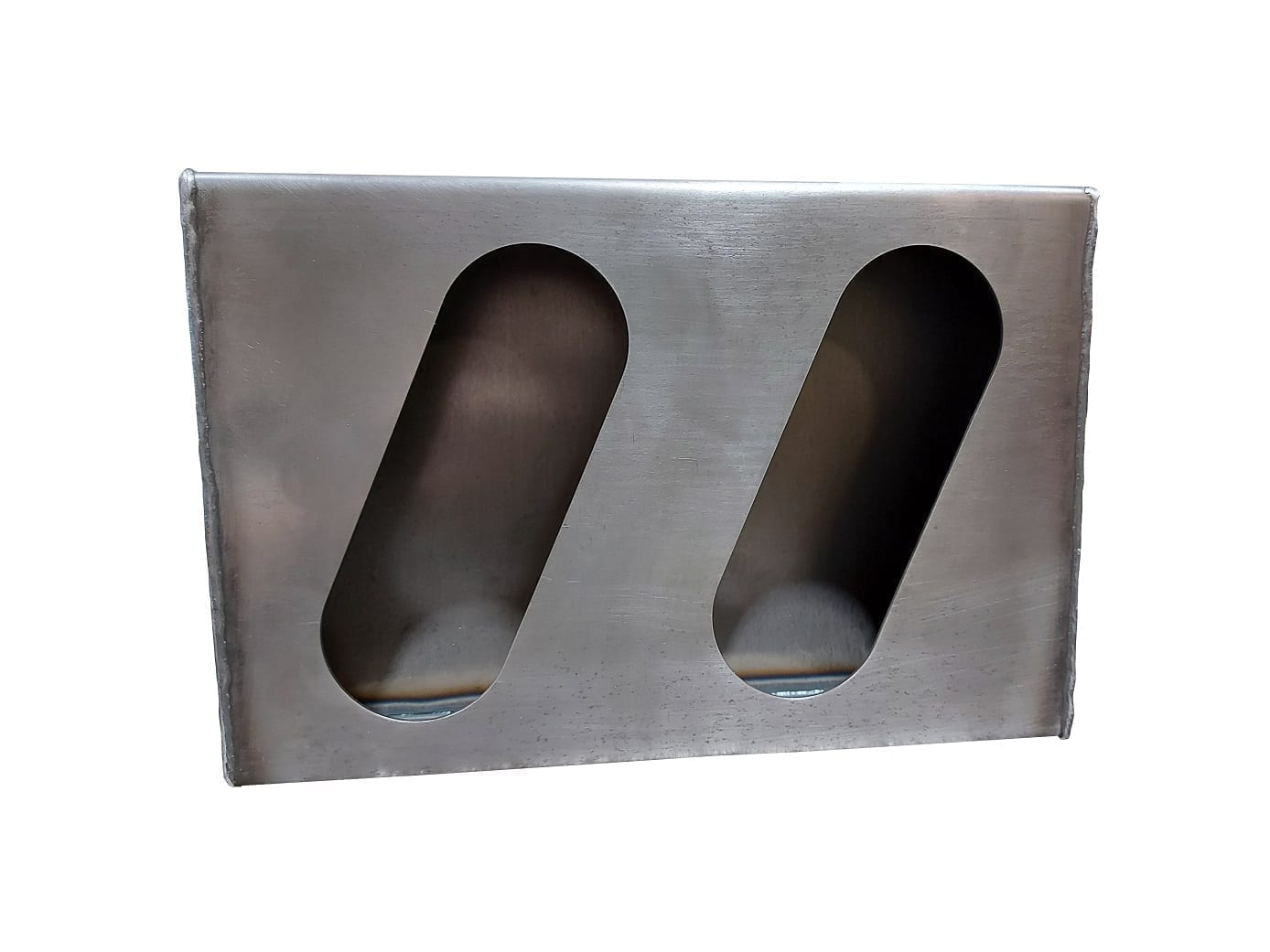 Double Angle Oval Light Box - RH