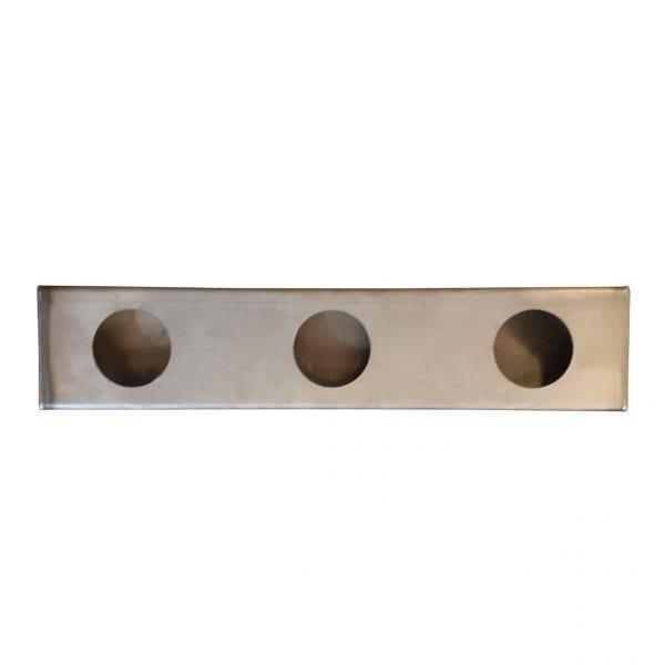 Triple Identification Light Box for 2 inch Lights