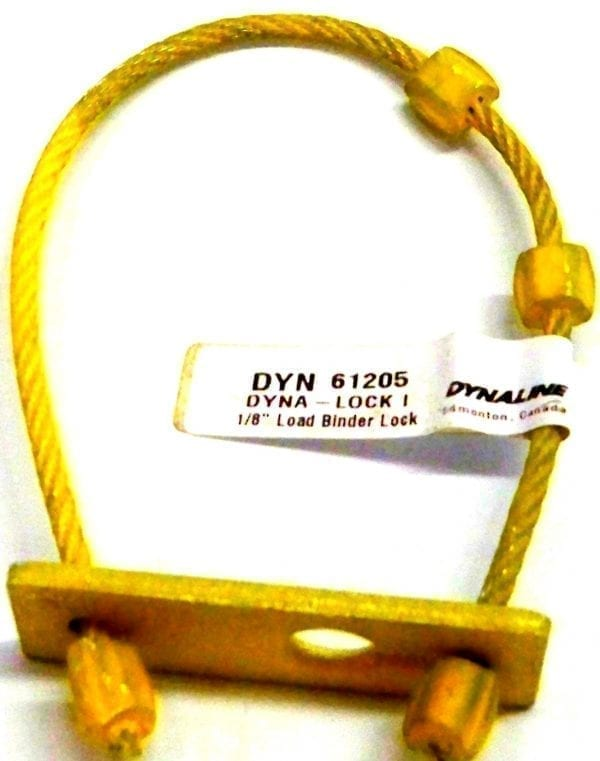 Cable Type Load Binder Lock, 1/8""