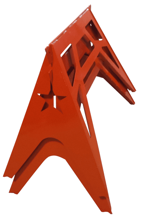 Stackable Steel Sawhorse Stand