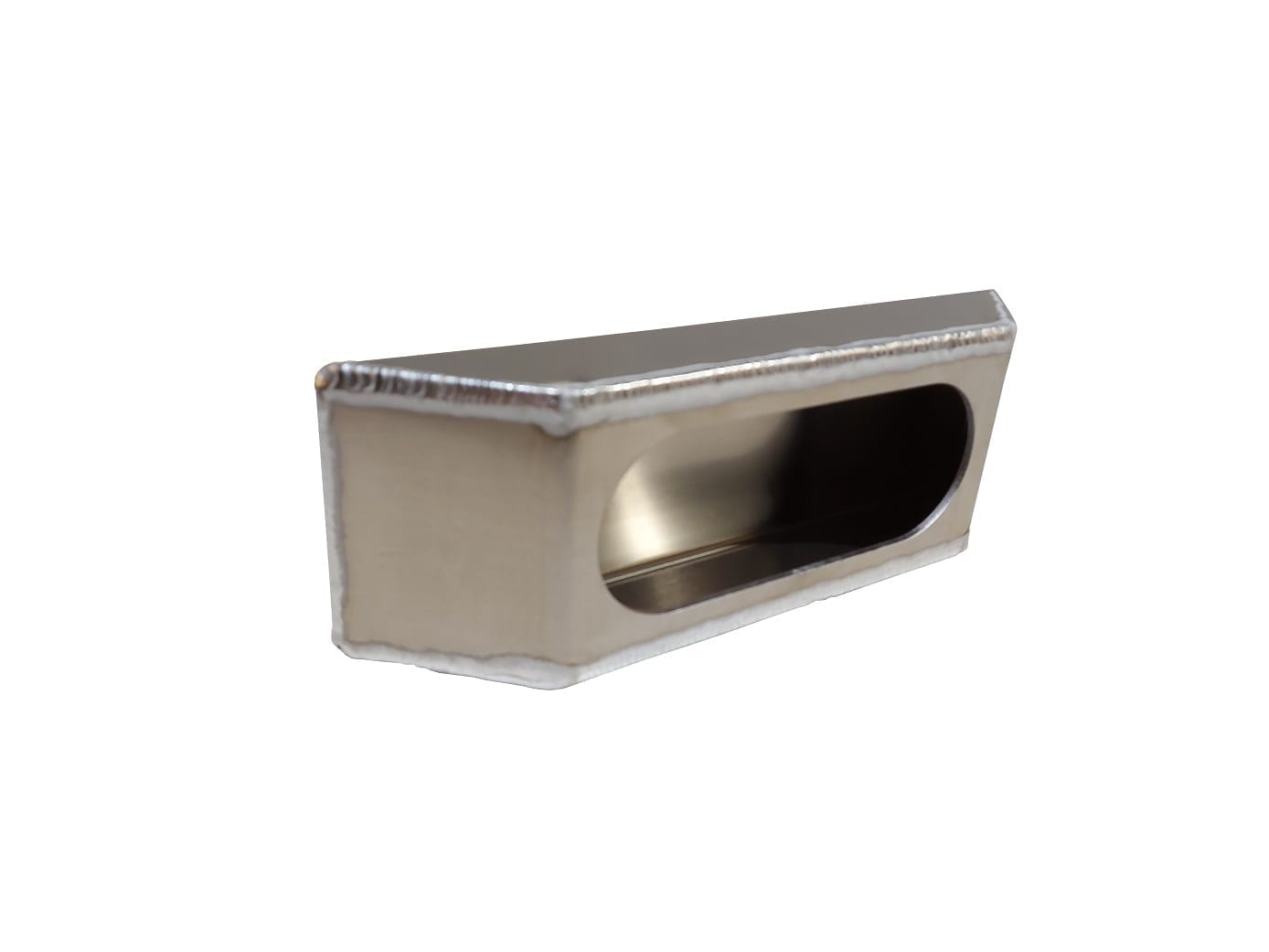 Aluminum Single Oval Sloped End Light Box
