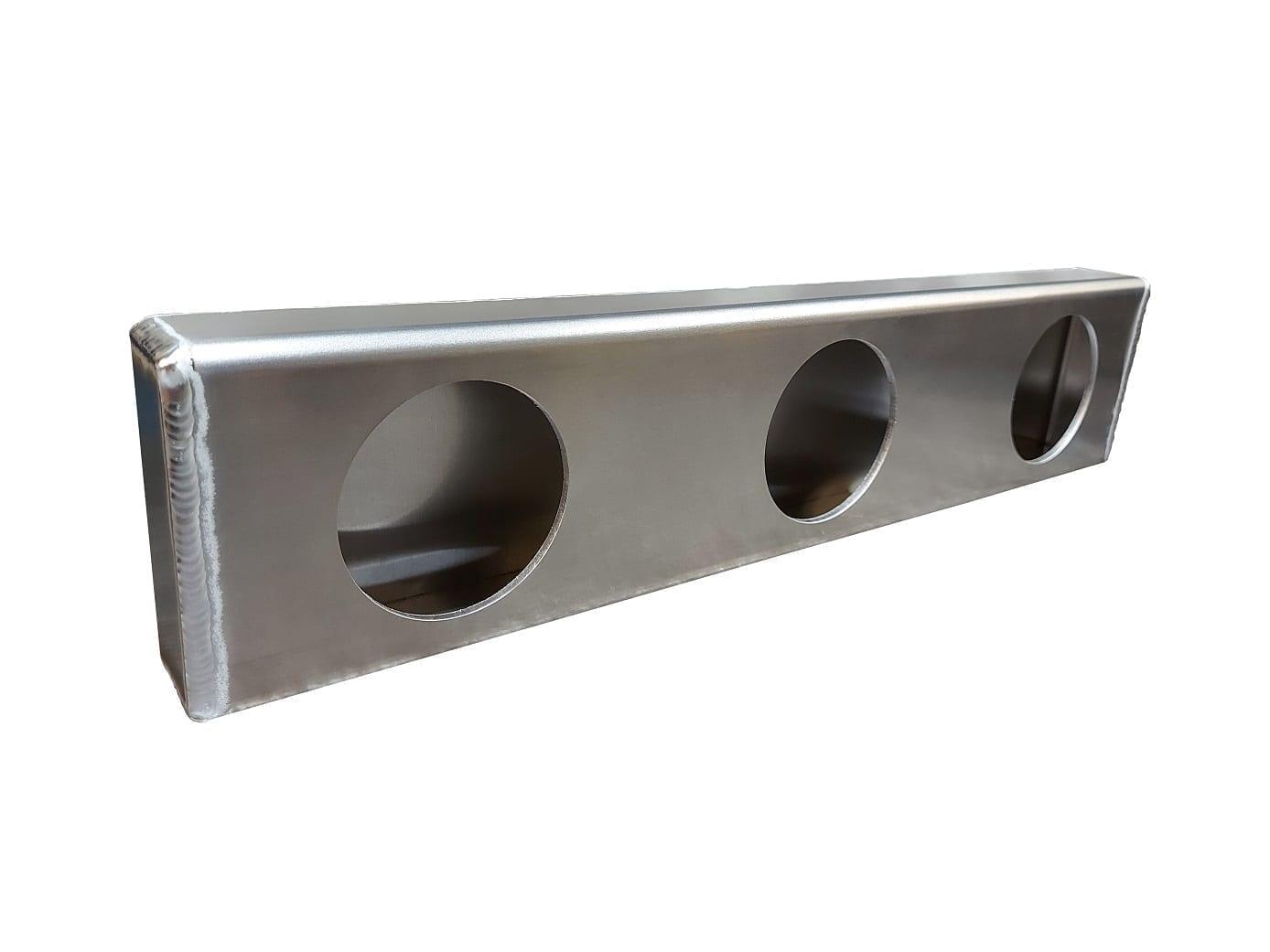 Aluminum Triple Identification Light Box