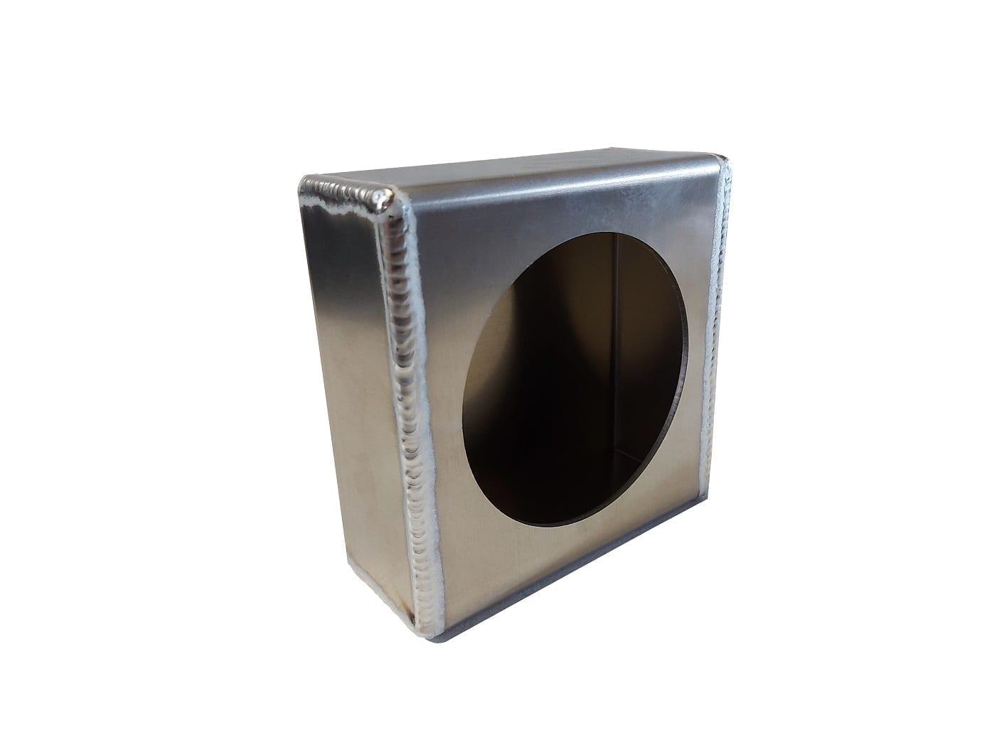Aluminum Single 4 Inch Round Light Box