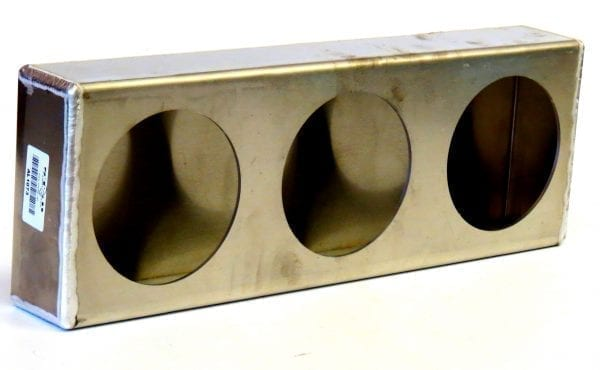 Aluminum Triple Tail Light Box