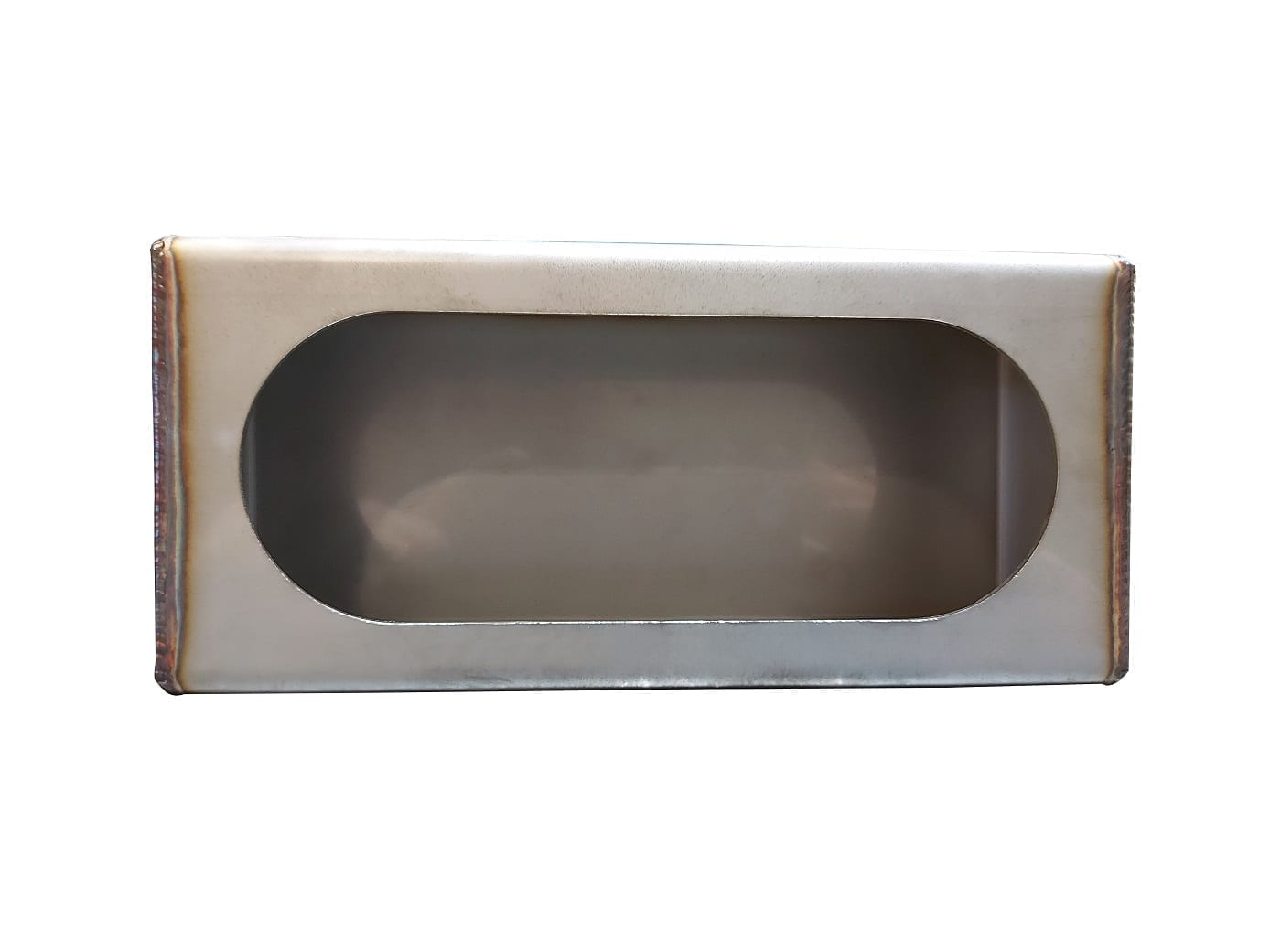 Stainless Steel Single Oval Light Box