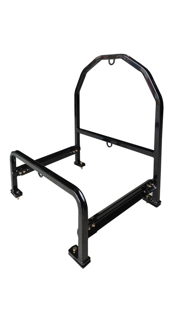 Spare Tire Carrier for Semi-Truck Extended