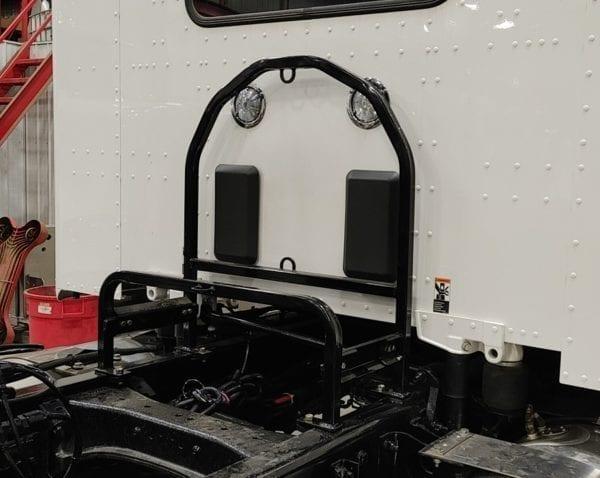 Spare Tire Carrier for Semi-Trucks