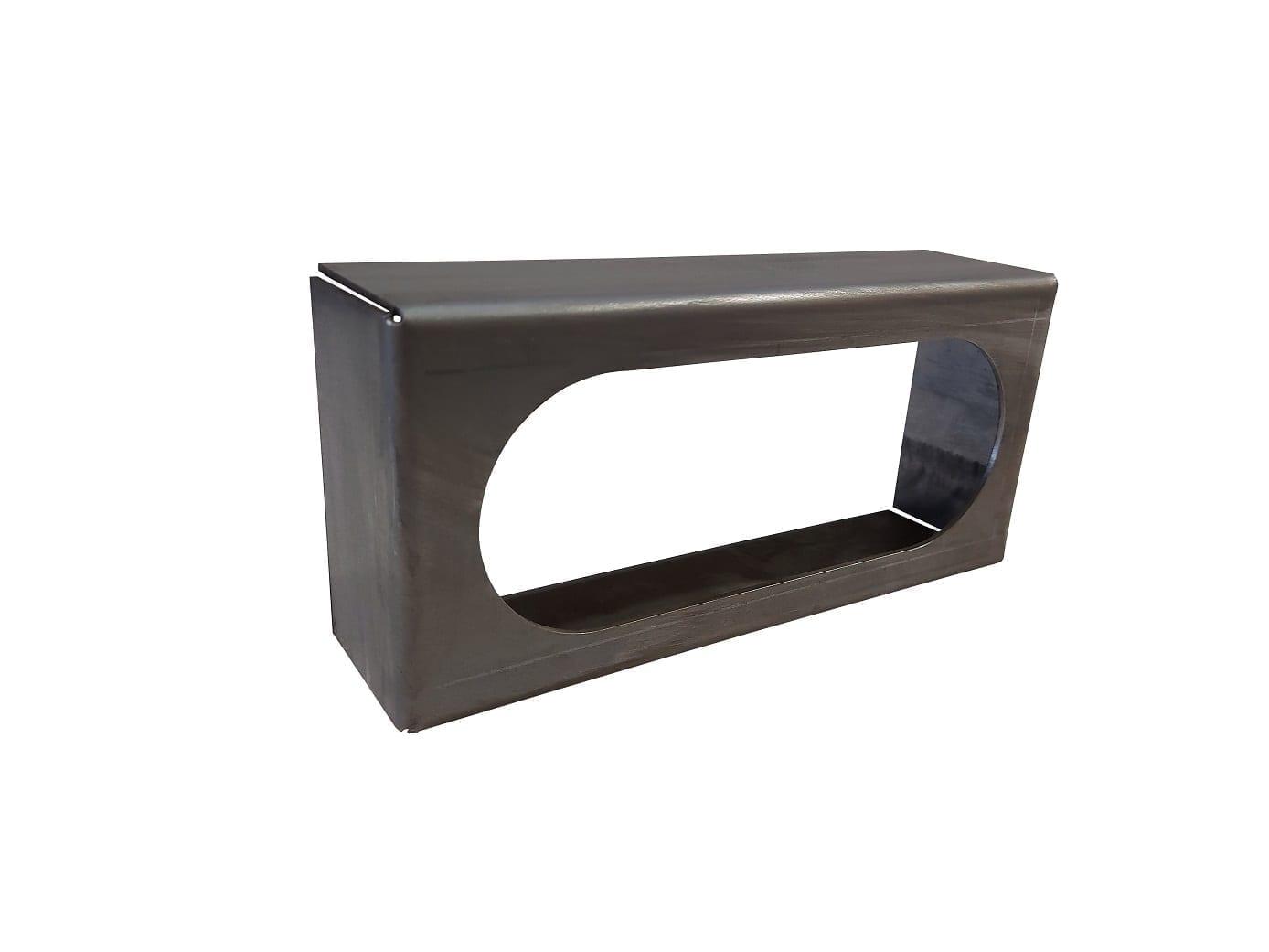 Single Oval Open Back Light Box